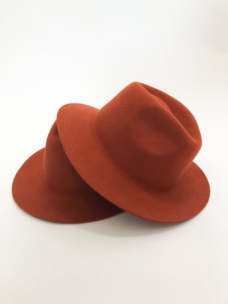 Wool Felt Safari Hat