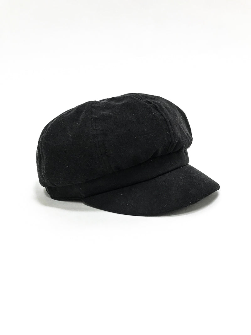 Suede Cap - Stitch And Feather