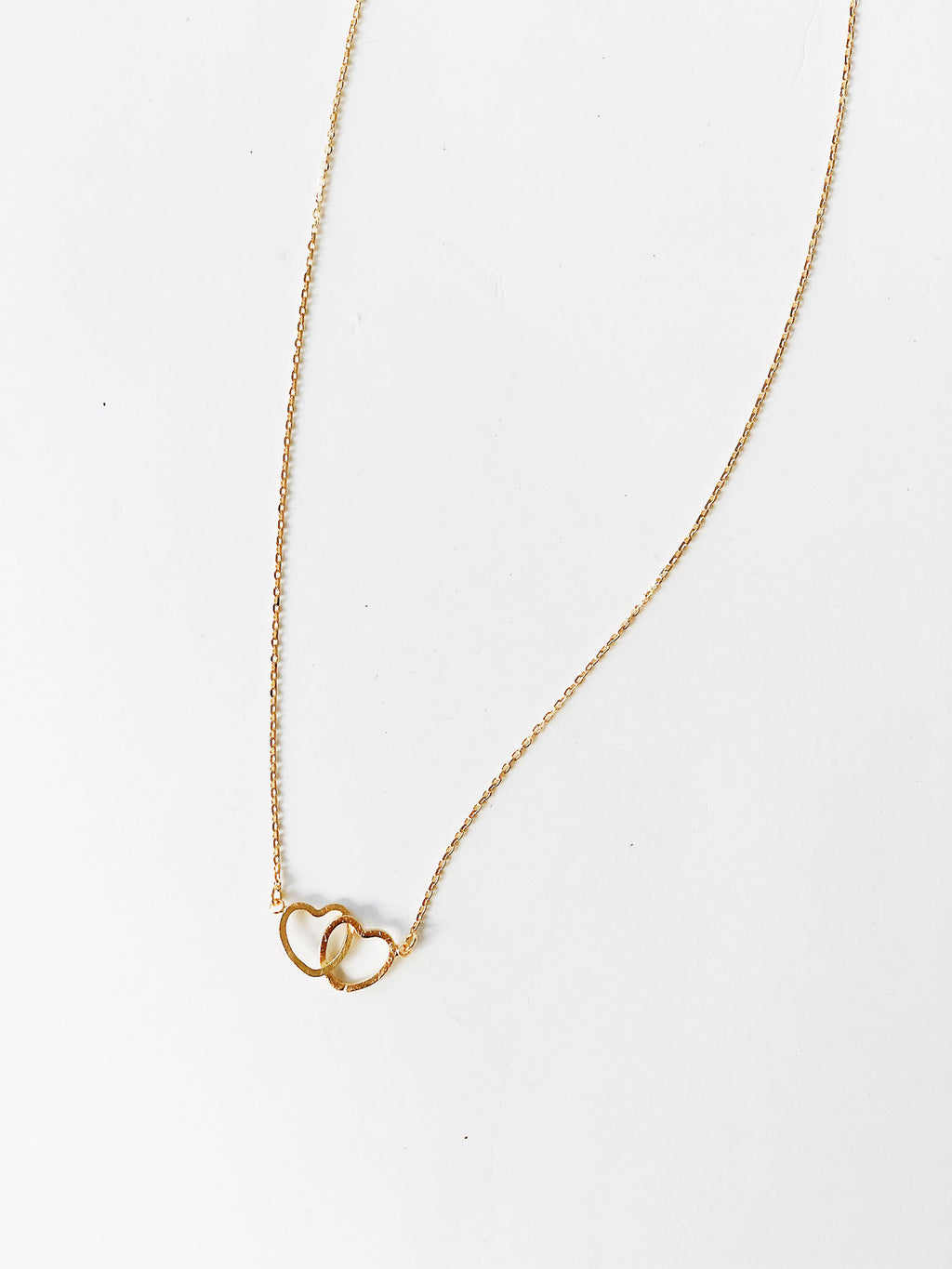 Infinity Hearts Necklace - Stitch And Feather