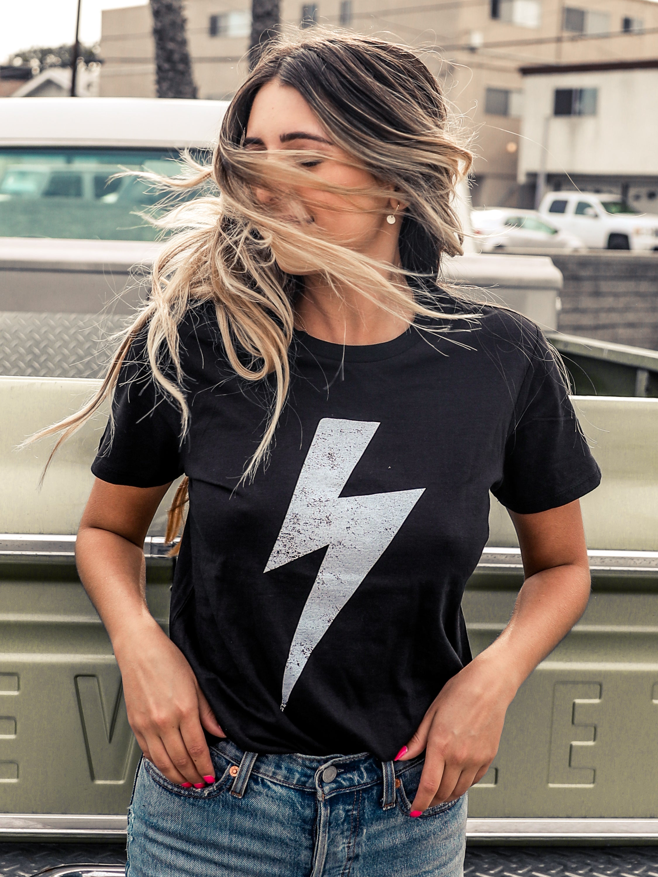 fashionable and attractive package variety of designs and colors shop for authentic Lightning Bolt Tee