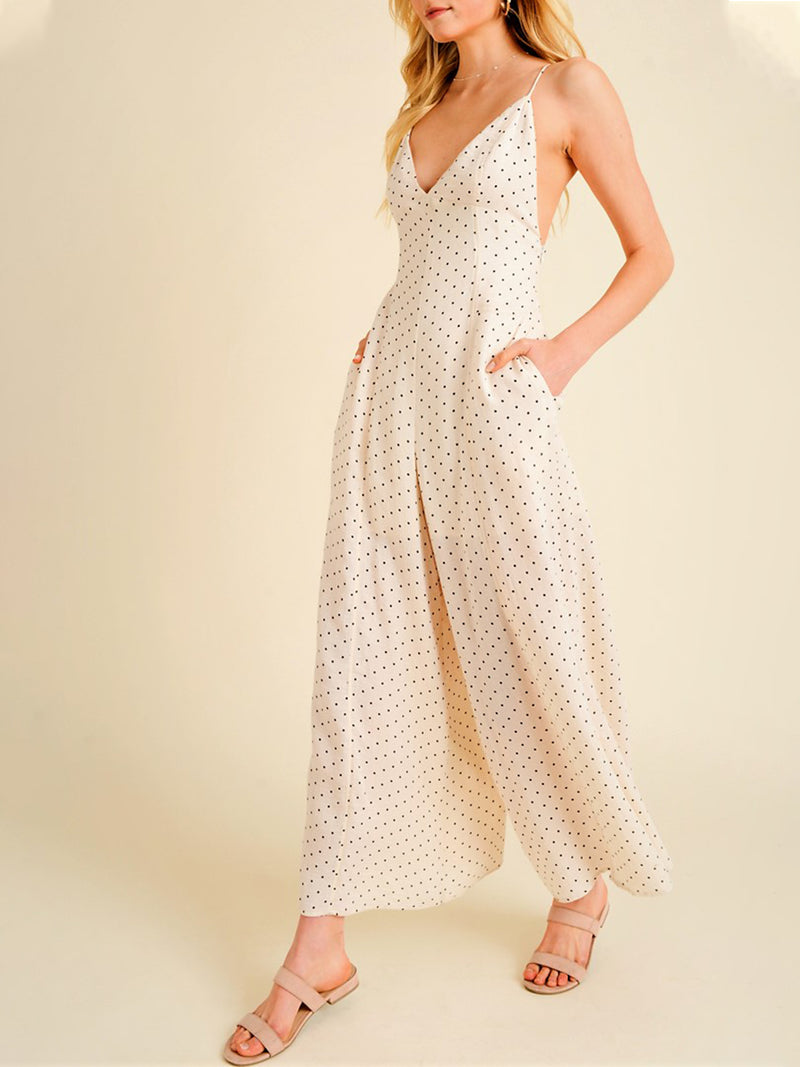 Darling Polka Dot Jumpsuit
