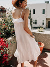 When In Rome Ruffle Maxi Dress - Stitch And Feather