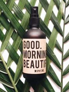Good Morning Beautiful by Happy Spritz - Stitch And Feather