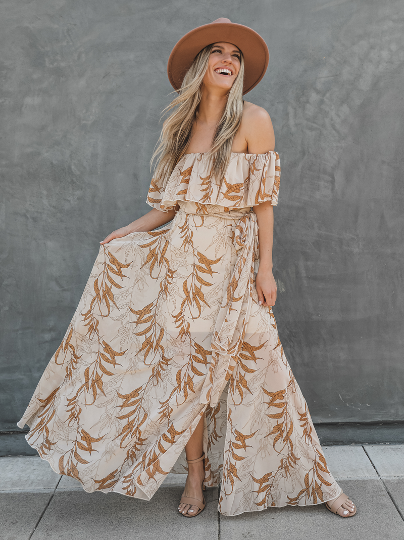 Lucia Floral Maxi - Stitch And Feather