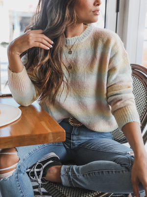 Reina Pastel Pull Over - Stitch And Feather