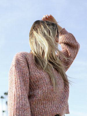 Pretty In Pink Pullover - Stitch And Feather