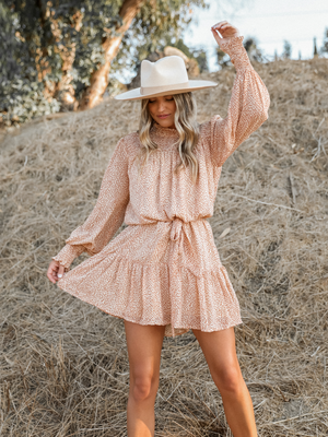 Arabella Mini Dress - Stitch And Feather
