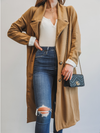 Spring Rain Trench Coat - Stitch And Feather