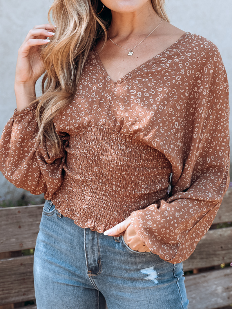 Paradise Top in Mocha - Stitch And Feather