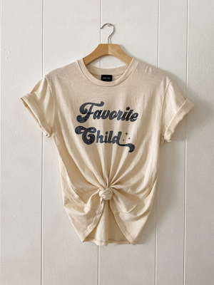Favorite Child Tee - Stitch And Feather