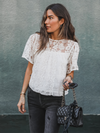 Lexi Crochet Top - Stitch And Feather