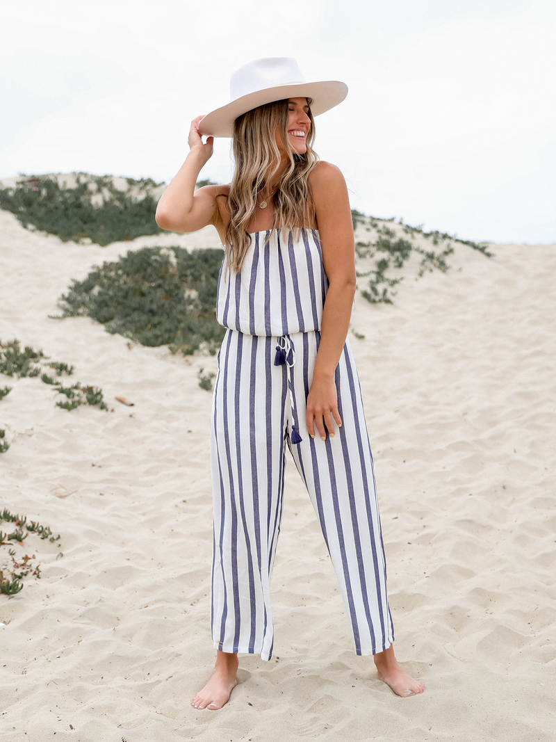 Lucca Jumpsuit - Stitch And Feather