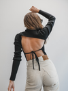 Kaylee Open Back Top (PRE-ORDER) - Stitch And Feather