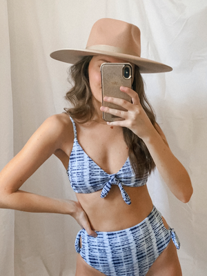 Lainey Bikini Top - Stitch And Feather