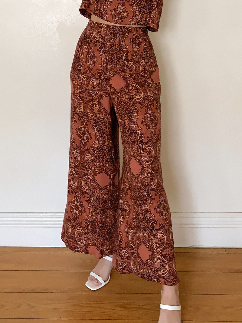 Paradise Woven Pant by Amuse Society - Stitch And Feather