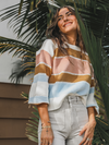 Sweet Stripes Sweater - Stitch And Feather