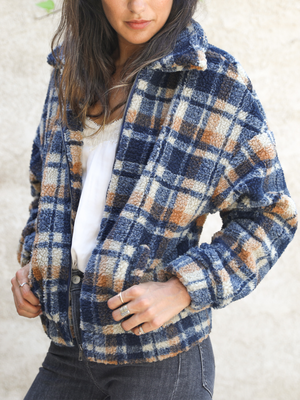 Don't Plaid With My Heart Jacket - Stitch And Feather