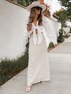 Tiered Up Maxi Skirt - Stitch And Feather