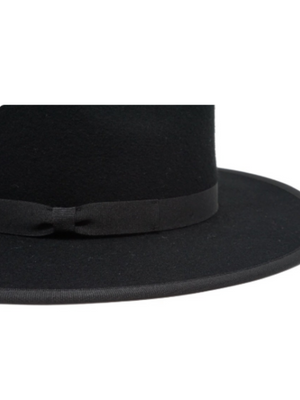 Astoria Fedora Hat in Black - Stitch And Feather