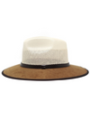 Colby Dual Straw Hat - Stitch And Feather