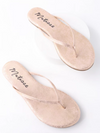 Malibu Sandal in Gold Frost by Matisse - Stitch And Feather