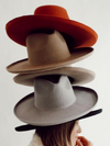 Lenny Felt Panama Hat in Pecan - Stitch And Feather