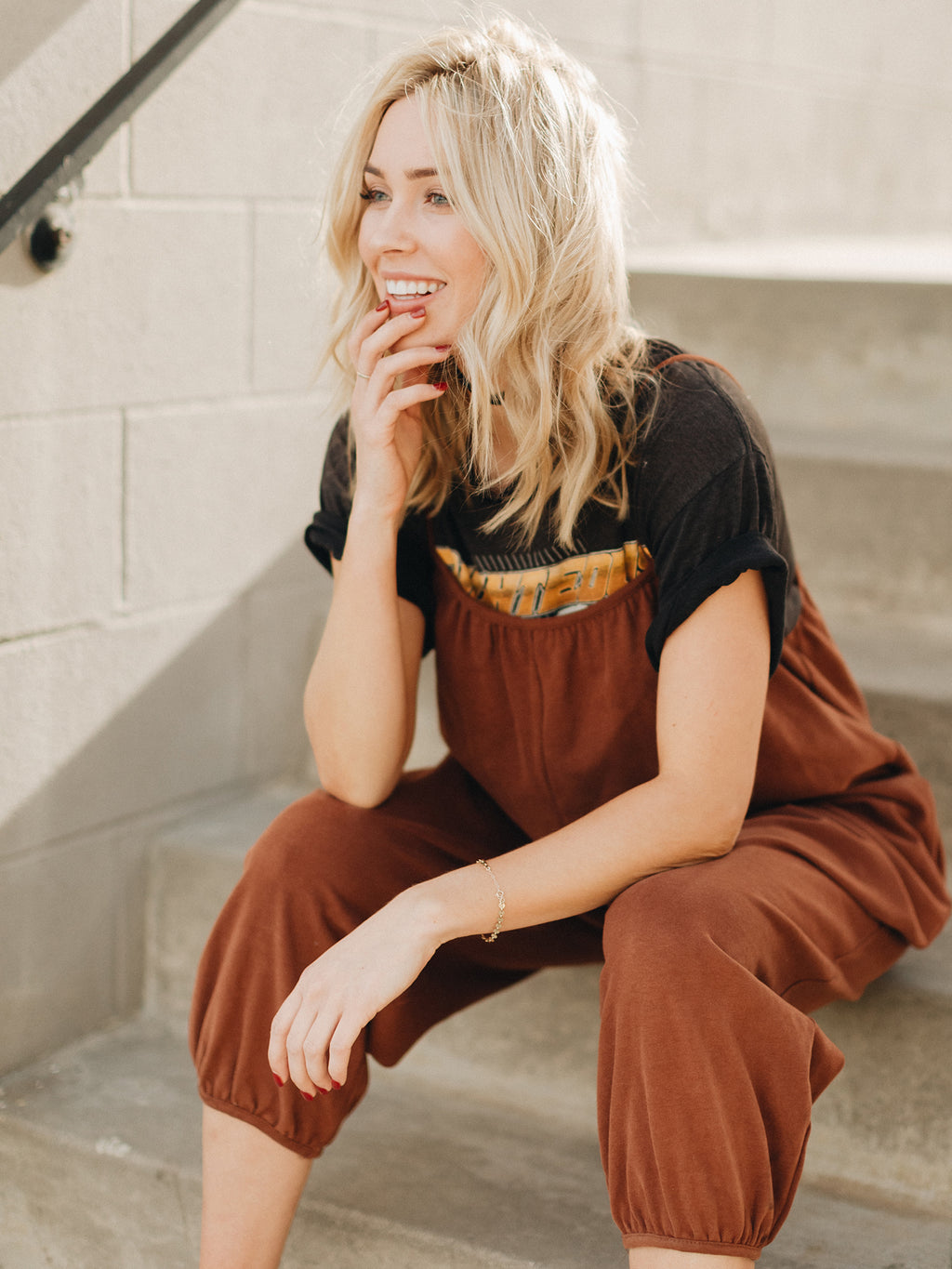Up Again Pocket Jumpsuit
