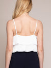 Ruffle Layer Tie Cami - Stitch And Feather