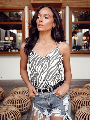 On The Prowl Tank Top - Stitch And Feather