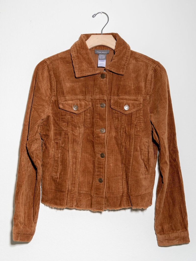 All Tucked Out Cord Jacket Camel