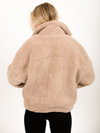 Fireside Teddy Bomber in Ash - Stitch And Feather