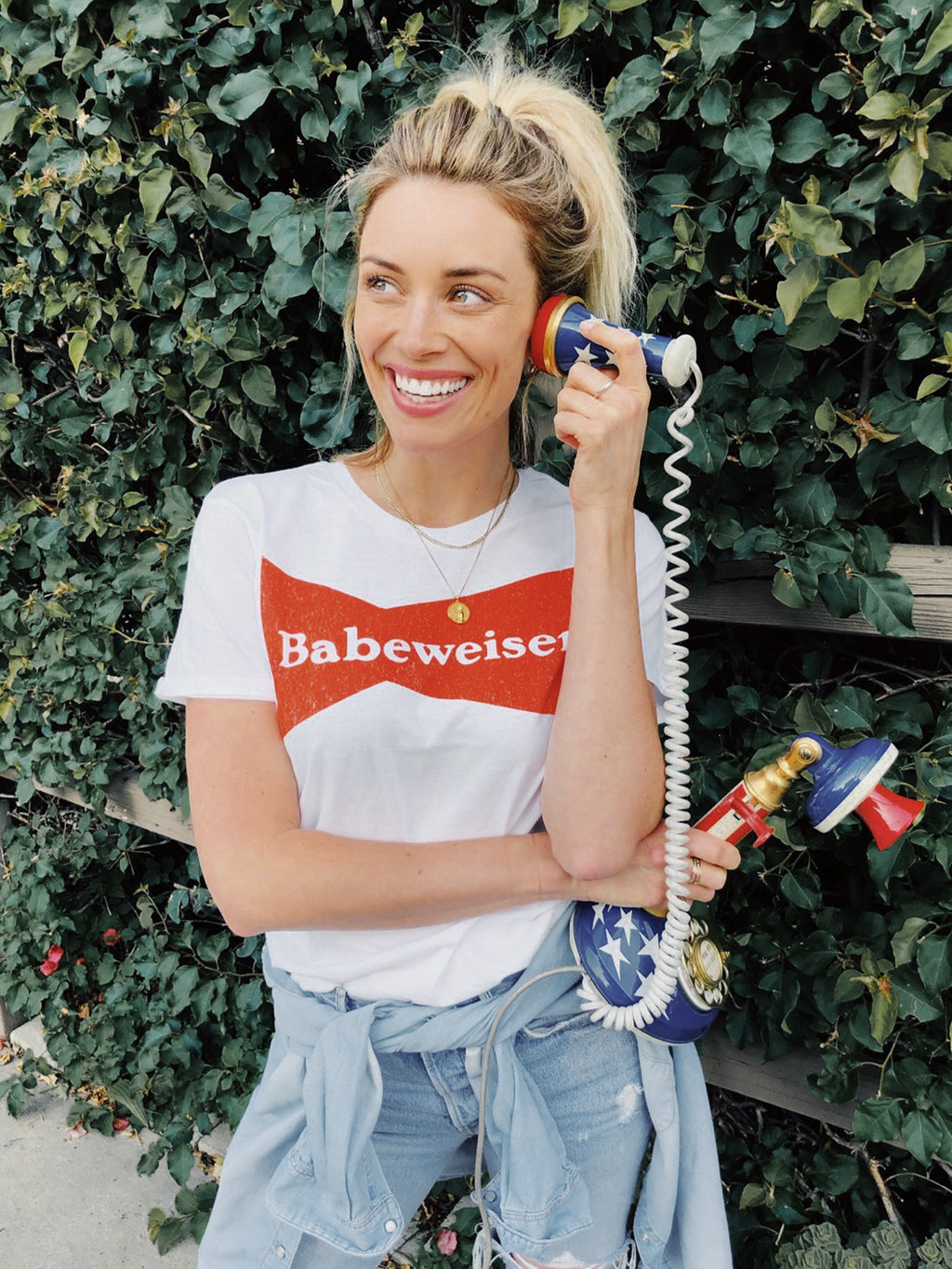 Babeweiser Vintage Tee - Stitch And Feather