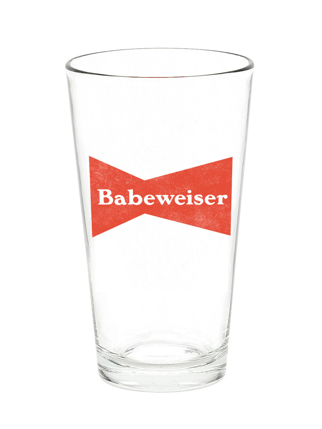 Babeweiser Pint Glass - Stitch And Feather