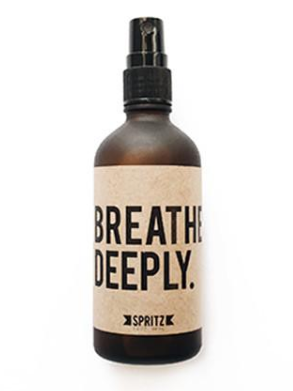 Breathe Deeply by Happy Spritz - Stitch And Feather