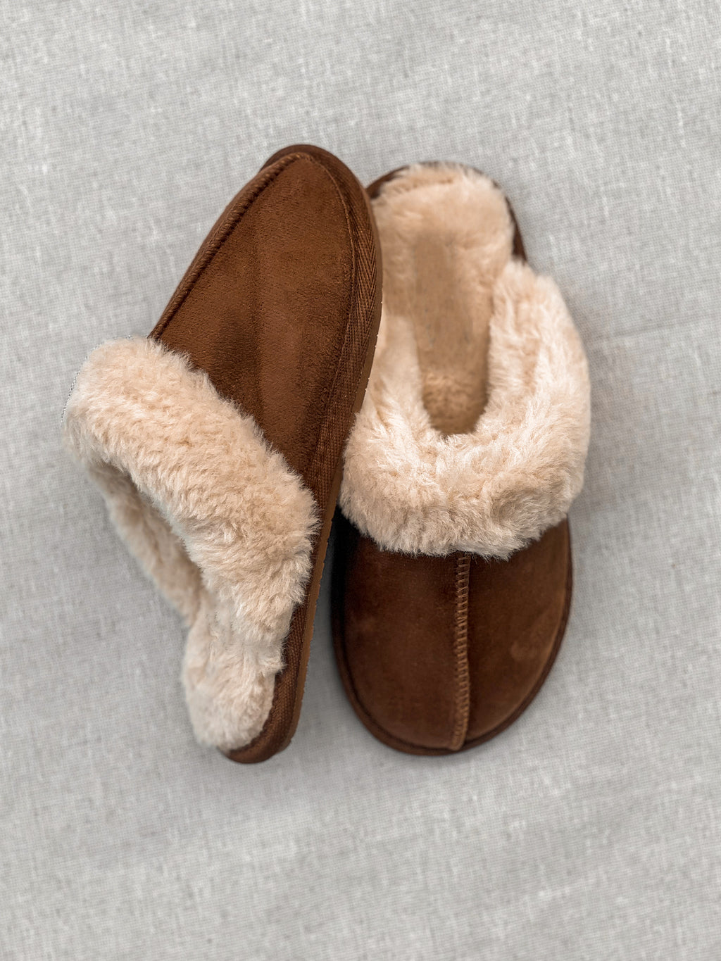 Step To It Slipper - Stitch And Feather