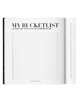 My BucketList by Axel & Ash - Stitch And Feather