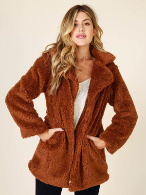 Carmella Teddy Jacket