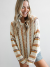 Cassidy Striped Sweater - Stitch And Feather