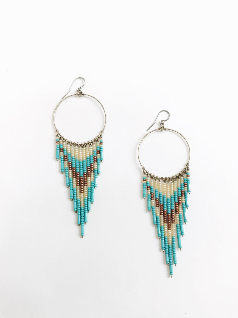 Catch My Dream Earrings - Stitch And Feather