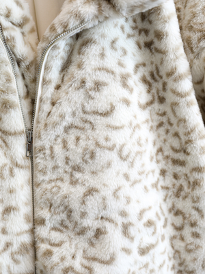 Snow Leopard Jacket - Stitch And Feather