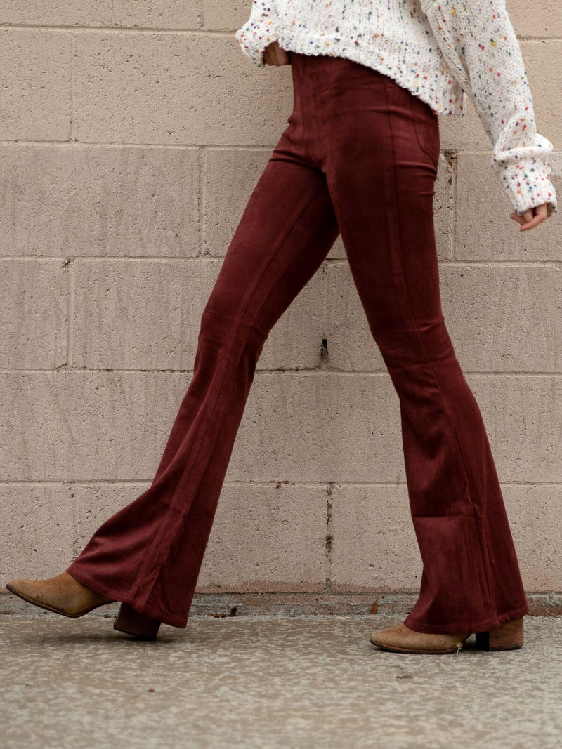 Clockwork Bell Bottoms - Stitch And Feather