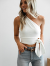 Cold Shoulder Billy Top - Stitch And Feather