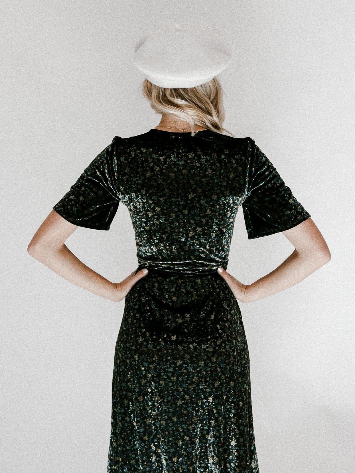 Could It Be You Velvet Dress