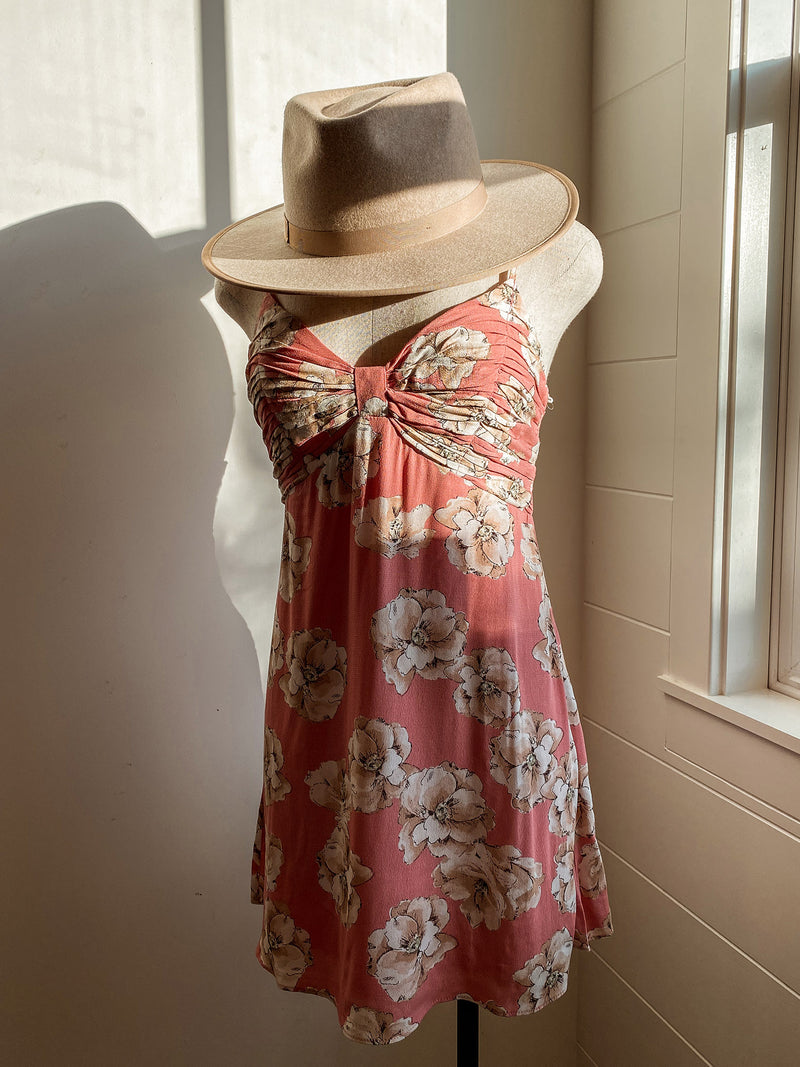 Floral Bow Dress - Stitch And Feather
