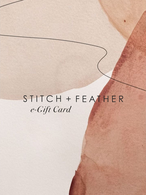 e-Gift Card - Stitch And Feather