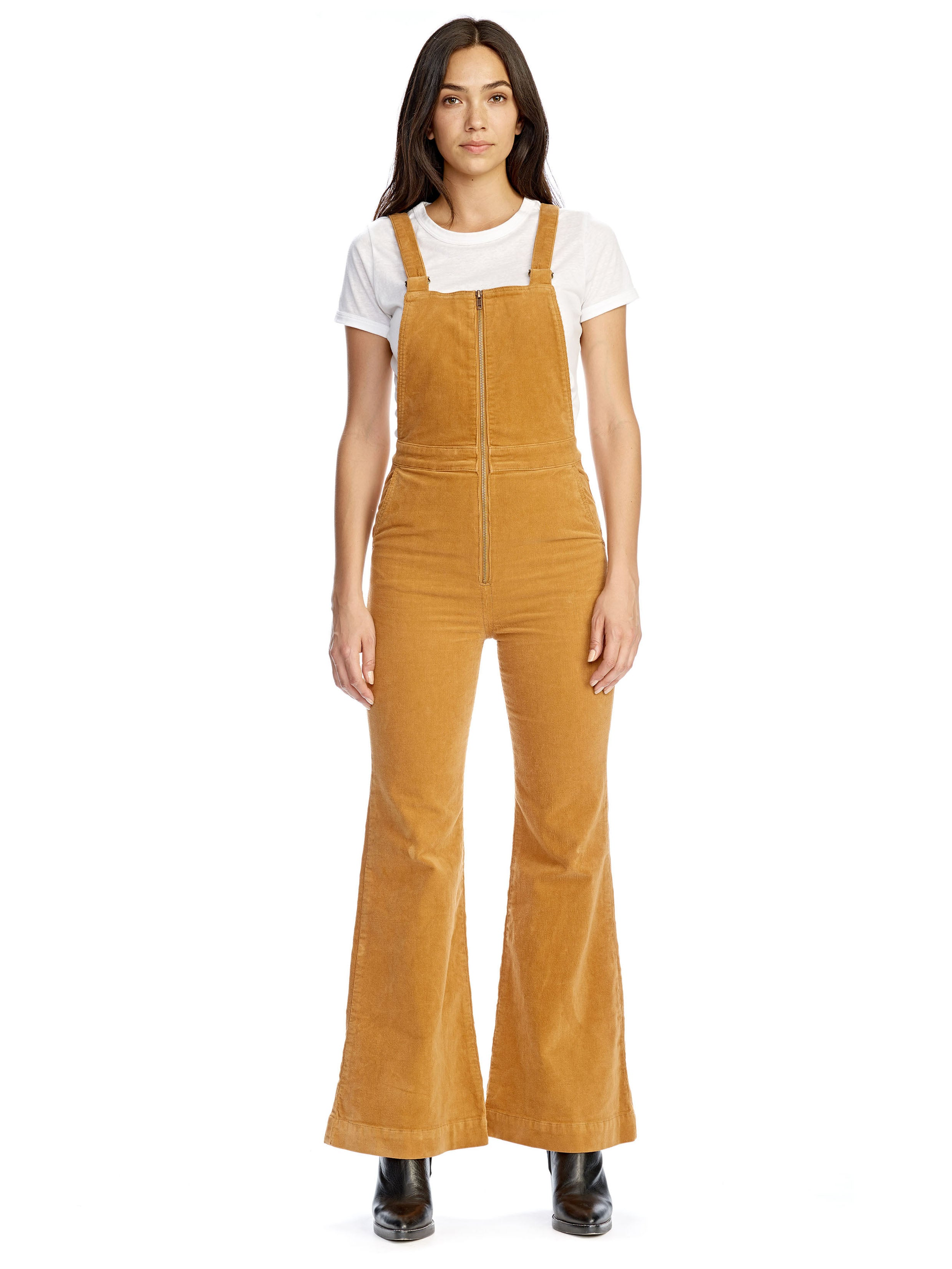 Eastcoast Flare Overall in Tan. - size 28 (also in 25,26,27,29) Rolla's