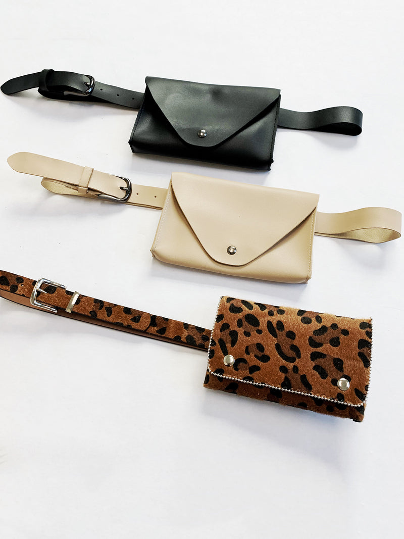 Cheetah Fanny Pack - Stitch And Feather