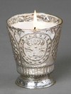 Fleur de Lys Candle in Honeysuckle - Stitch And Feather