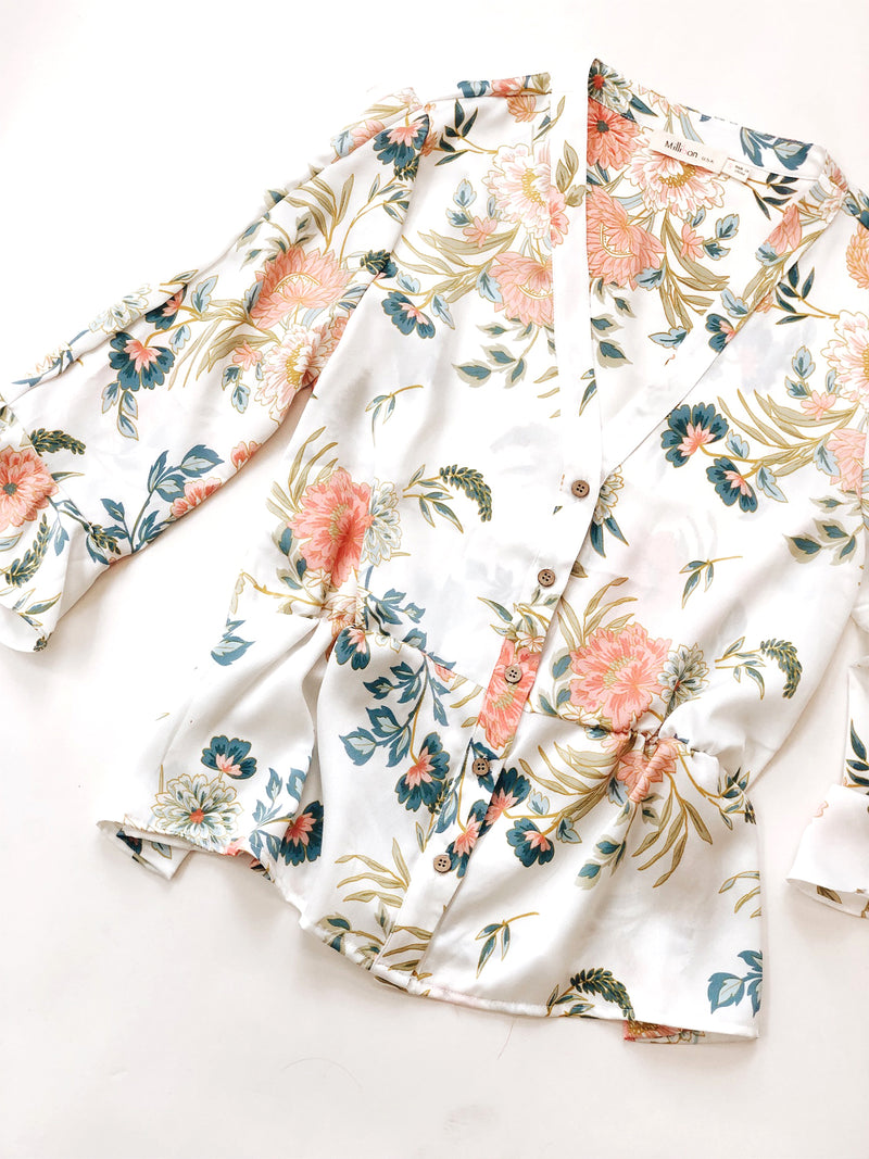 Zinnia Floral Blouse