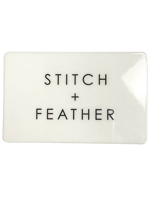 In Store Gift Card - Stitch And Feather